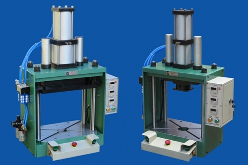 开式气液增力压力机